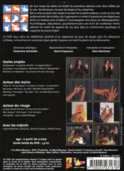 Jeux de doigts pour partager l'imaginaire des enfants - 4ème de couverture - Format classique
