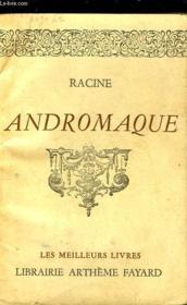 Andromaque. - Couverture - Format classique