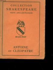 Antoine Et Cleopatre - Couverture - Format classique