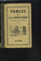 Fables De La Fontaine - Precedees De La Vie D'Esope. - Couverture - Format classique