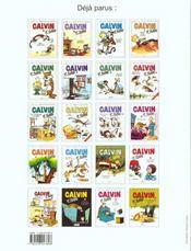 Calvin et Hobbes T.20 ; il y a des trésors partout ! - 4ème de couverture - Format classique