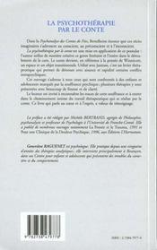 La Psychotherapie Par Le Conte - 4ème de couverture - Format classique