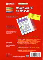 Guidexpress reliez vos pc en reseau - 4ème de couverture - Format classique