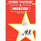 Les aventures de Spirou et Fantasio T.42 ; Spirou et Fantasio à Moscou - Couverture - Format classique