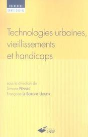 Technologies urbaines, vieillissements et handicaps - Intérieur - Format classique