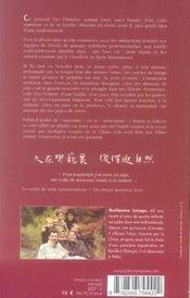 Rencontres en chine - 4ème de couverture - Format classique