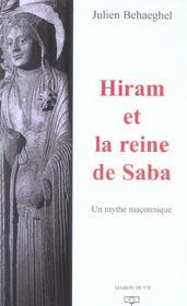 Hiram et la reine de saba - Intérieur - Format classique