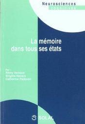Memoire dans tous ses etats (la) - Intérieur - Format classique