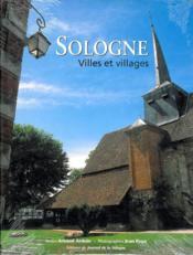 Sologne villes et villages - Couverture - Format classique