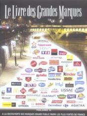 Le livre des grandes marques t.2 - Couverture - Format classique