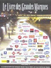 Le livre des grandes marques t.2 - Intérieur - Format classique