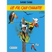 Lucky luke ancienne edition t14 fil qui chante (le) - Couverture - Format classique