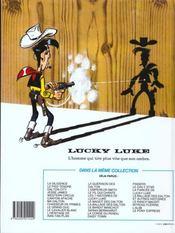 Lucky luke ancienne edition t14 fil qui chante (le) - 4ème de couverture - Format classique
