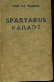 Tendre Allemagne. Spartakus Parade. - Couverture - Format classique