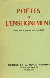 Poetes De L'Enseignement - Couverture - Format classique