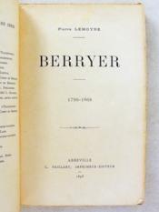Berryer ( 1790 - 1868 ) - Couverture - Format classique