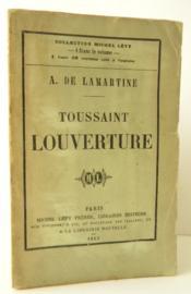 TOUSSAINT LOUVERTURE. Poème dramatique. - Couverture - Format classique
