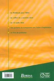 SURF IN ENGLISH ; anglais ; 3ème ; manuel de l'élève (édition 2003) - 4ème de couverture - Format classique