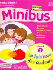 Minibus petite section 3-4 ans - Couverture - Format classique