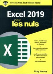 Excel 2019 poche pour les nuls - Couverture - Format classique