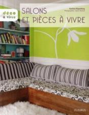 Salons et pièces à vivre - Couverture - Format classique