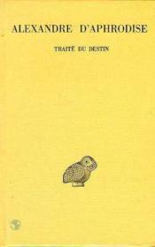Traité du destin - Couverture - Format classique