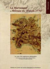 Carte de la martinique de moreau du temple 1764 - Couverture - Format classique