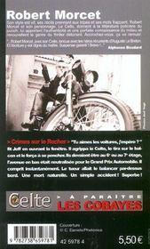 Le Celte. 26. Crimes sur le Rocher - 4ème de couverture - Format classique