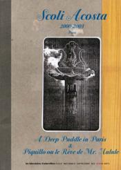Scoli acosta 2000-2003 - Couverture - Format classique