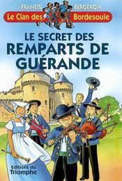 Le secret des remparts de Guérande - Intérieur - Format classique