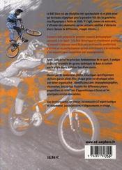 Bmx race, s'initier et progresser ; gestes techniques de base et évolués, tactique - 4ème de couverture - Format classique
