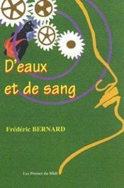 D Eaux Et De Sang - Couverture - Format classique