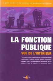 La Fonction Publique Vue De L'Interieur - Intérieur - Format classique