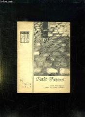 Petit Format N° 14 Fevrier 1951. Sommaire: Le Temoin Sur Le Geant Vaincu, Le Couplage D Un Telemetre... - Couverture - Format classique
