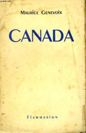 Canada. - Couverture - Format classique