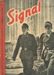 Signal - N°1 Juin 1941 - Actualites Allemandes - L'Echec De Roosevelt Dans Les Balkans - Avec La Diffision - Fantome - Couverture - Format classique