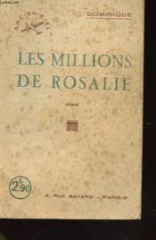Les Millions De Rosalie - Couverture - Format classique