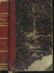 Lettres A Une Honnete Femme Sur Les Evenements Contemporains - Couverture - Format classique