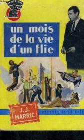 Un Mois De La Vie D'Un Flic - Couverture - Format classique