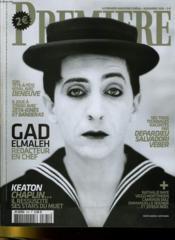 PREMIERE N° 345 - GAD ELMALEH, rédacteur en chef - Couverture - Format classique