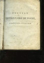 Nouveau Dictionnaire De Poche - Francais-Italien - Couverture - Format classique