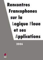Lfa 2006 ; rencontres francophones sur la logique floue - Intérieur - Format classique