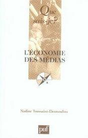 L'économie des médias - Intérieur - Format classique
