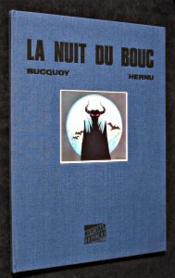 Une aventure fantastique d'Alain Moreau, La nuit du bouc - Couverture - Format classique