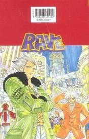 Rave t.12 - 4ème de couverture - Format classique
