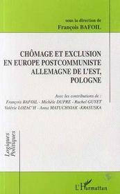 Chômage et exclusion en Europe postcommuniste ; Allemagne de l'Est, Pologne - Intérieur - Format classique