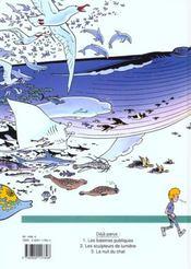 Broussaille t.1 ; les baleines publiques - 4ème de couverture - Format classique