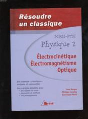 Resoudre classique phys.mpsi, ptsi 2 - Couverture - Format classique