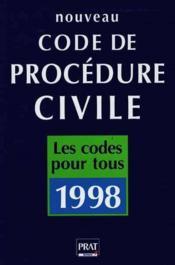 Nouveau Code De Procedure Civile - Couverture - Format classique