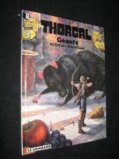 Thorgal T.22 ; géants - Couverture - Format classique